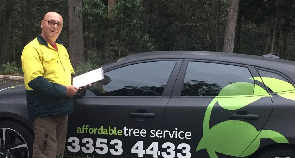 This is Wayne from Affordable Tree Service Brisbane