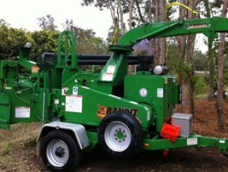 Affordable Tree Service Brisbane - Wood chipper
