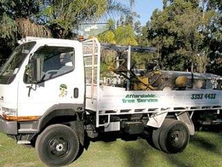 -- Affordable Tree Service Brisbane - Truck